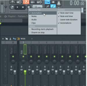 automatizacion al grabar problema de sonido