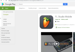 fl studio para movil