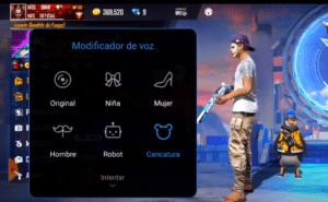 modificador de voz para free fire niña, mujer robot carciatrua 2021