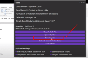 opern skin folder para fl studio 20.7
