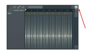 vertical zoom en fl studio
